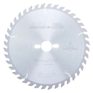 MD10-400-30 Carbide Tipped General Purpose 10 Inch Dia x 40T ATB, 15 Deg, 30mm Bore Circular Saw Blade