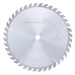 MD10-400 Carbide Tipped General Purpose 10 Inch Dia x 40T ATB, 15 Deg, 5/8 Bore Circular Saw Blade