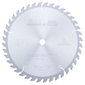 MD10-401 Carbide Tipped Plywood & Laminate 10 Inch Dia x 40T TCG, 12 Deg, 5/8 Bore Circular Saw Blade