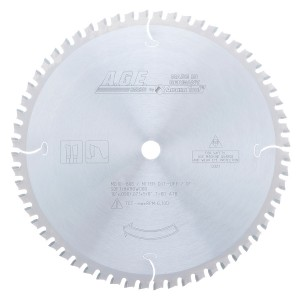 MD10-606 Carbide Tipped Thin Kerf Miter/Finishing 10 Inch Dia x 60T ATB, 0 Deg, 5/8 Bore Circular Saw Blade