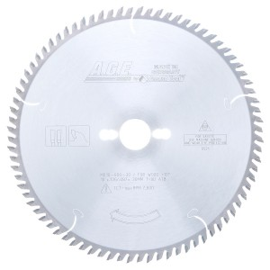 MD10-800-30 Carbide Tipped Cut-Off & Crosscut 10 Inch Dia x 60T ATB, 12 Deg, 30mm Bore Circular Saw Blade