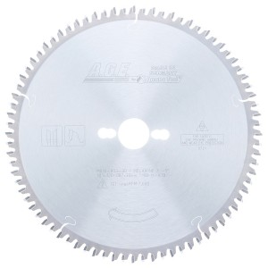 MD10-803-30 Carbide Tipped Double-Sided Melamine 10 Inch Dia x 80T H-ATB, -5 Deg, 30mm Bore Circular Saw Blade