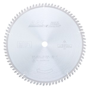 MD10-803TB Carbide Tipped Thin Kerf Double-Sided Melamine 10 Inch Dia x 80T H-ATB, -3 Deg, 5/8 Bore Circular Saw Blade