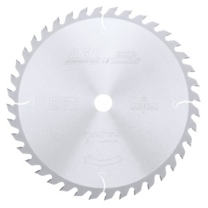 MD12-400 Carbide Tipped General Purpose 12 Inch Dia x 40T ATB, 10 Deg, 1 Inch Bore Circular Saw Blade