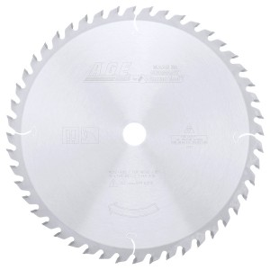 MD12-480 Carbide Tipped General Purpose 12 Inch Dia x 48T ATB, 15 Deg, 1 Inch Bore Circular Saw Blade
