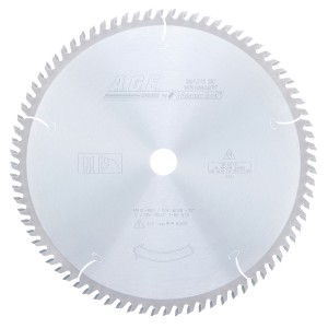MD12-800 Carbide Tipped Cut-Off & Crosscut 12 Inch Dia x 80T ATB, 10 Deg, 1 Inch Bore Circular Saw Blade