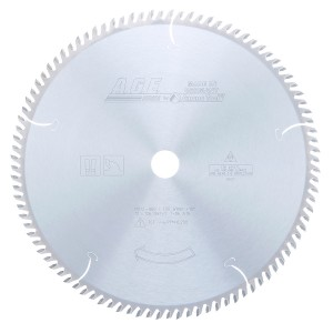MD12-960 Carbide Tipped Cut-Off & Crosscut 12 Inch Dia x 96T ATB, 10 Deg, 1 Inch Bore Circular Saw Blade