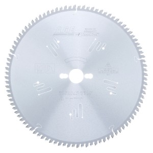 MD12-963-30 Carbide Tipped Double-Sided Melamine 12 Inch Dia x 96T H-ATB, -5 Deg, 30mm Bore Circular Saw Blade