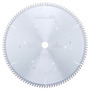 MD14-105 Carbide Tipped Thin Walled Aluminum and Non-Ferrous Metals 14 Inch Dia x 108T TCG, -6 Deg, 1 Inch Bore Circular Saw Blade