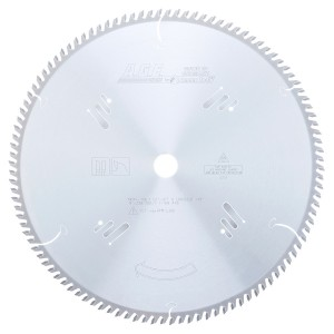 MD14-108 Carbide Tipped Cut-Off & Crosscut 14 Inch Dia x 108T ATB, 10 Deg, 1 Inch Bore Circular Saw Blade
