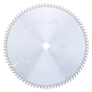 MD14-840 Carbide Tipped Cut-Off & Crosscut 14 Inch Dia x 84T ATB, 10 Deg, 1 Inch Bore Circular Saw Blade