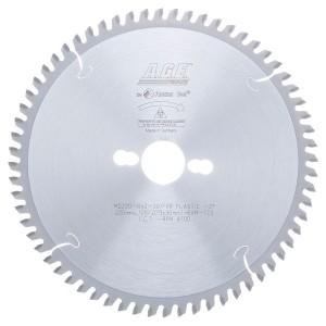 MD220-642-30 Carbide Tipped Plastic 220mm Dia x 64T M-TCG, -2 Deg, 30mm Bore Circular Saw Blade
