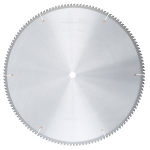 MD24-145 Carbide Tipped Thin Walled Aluminum and Non-Ferrous Metals 24 Inch Dia x 140T TCG, -5 Deg, 1 Inch Bore Circular Saw Blade