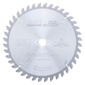 MD7-402 Carbide Tipped Plastic 7-1/4 Inch Dia x 40T M-TCG, -2 Deg, 5/8 Bore Circular Saw Blade