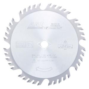 MD8-404 Carbide Tipped Combination 8 Inch Dia x 40T 4+1, 20 Deg, 5/8 Bore Circular Saw Blade