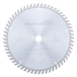 MD8-601 Carbide Tipped Plywood & Laminate 8 Inch Dia x 60T TCG, 10 Deg, 5/8 Bore Circular Saw Blade