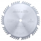 MD10-504TB Carbide Tipped Thin Kerf Combination 10 Inch Dia x 50T 4+1, 20 Deg, 5/8 Bore Circular Saw Blade