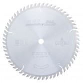 MD10-600 Carbide Tipped Cut-Off & Crosscut 10 Inch Dia x 60T ATB, 12 Deg, 5/8 Bore Circular Saw Blade