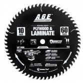 MD10-601R Carbide Tipped Plywood & Laminate ArmorMax® Coated 10 Inch Dia x 60T, TCG, 12 Deg, 5/8 Bore Circular Saw Blade