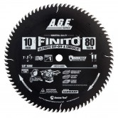 MD10-800R Carbide Tipped Finito Ultimate Cut-Off & Crosscut ArmorMax™ Coated 10 Inch Dia x 80T, ATB, 10 Deg, 5/8 Bore Circular Saw Blade
