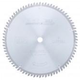 MD10-803 Carbide Tipped Double-Sided Melamine 10 Inch Dia x 80T H-ATB, -5 Deg, 5/8 Bore Circular Saw Blade