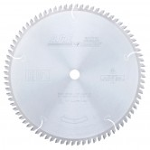 MD10-816TB Carbide Tipped Thin Kerf Cut-Off & Crosscut 10 Inch Dia x 80T ATB, 0 Deg, 5/8 Bore Circular Saw Blade
