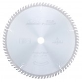 MD12-800 Carbide Tipped Cut-Off & Crosscut 12 Inch Dia x 80T ATB, 10 Deg, 1 Inch Bore Circular Saw Blade