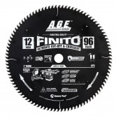 MD12-960R Carbide Tipped Finito Ultimate Cut-Off & Crosscut ArmorMax™ Coated 12 Inch Dia x 96T, ATB, 10 Deg, 1 Bore Circular Saw Blade