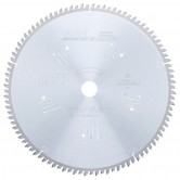 MD12-963 Carbide Tipped Double-Sided Melamine 12 Inch Dia x 96T H-ATB, -5 Deg, Inch Bore Circular Saw Blade