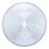 MD12-963TB Carbide Tipped Thin Kerf Double-Sided Melamine 12 Inch Dia x 96T H-ATB, -5 Deg, 1 Inch Bore Circular Saw Blade