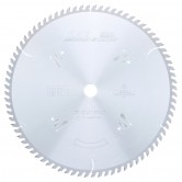 MD14-800 Carbide Tipped Cut-Off & Crosscut 14 Inch Dia x 80T ATB, 12 Deg, 1 Inch Bore Circular Saw Blade