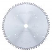 MD14-801 Carbide Tipped Plywood & Laminate 14 Inch Dia x 80T TCG, 10 Deg, 1 Inch Bore Circular Saw Blade