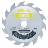 MD160-140 Carbide Tipped Saw Blade Comparable to FESTOOL® #495372 and Other Track Saw Machines, 160mm Dia x 14T ATB, 28 Deg, 20mm Bore, Ripping Circular Saw Blade, Fits TS 55 EQ, ATF 55 E, AP 55