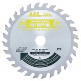MD160-280 Carbide Tipped Saw Blade Comparable to FESTOOL® #490516 and Other Track Saw Machines, 160mm Dia x 28T ATB, 15 Deg, 20mm Bore, General Purpose Circular Saw Blade, Fits TS 55 EQ, ATF 55 E, AP 55