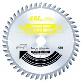 MD160-480 Carbide Tipped Saw Blade Comparable to FESTOOL® #491952 and Other Track Saw Machines, 160mm Dia x 48T ATB, 5 Deg, 20mm Bore, Crosscut Circular Saw Blade, Fits TS 55 EQ, ATF 55 E, AP 55