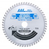 MD160-565 Carbide Tipped Saw Blade Comparable to FESTOOL® #495373 and Other Track Saw Machines, 160mm Dia x 56T TCG, -5 Deg, 20mm Bore, Aluminum/Plastic Circular Saw Blade, Fits TS 55 EQ, ATF 55 E, AP 55