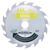 MD210-160 Carbide Tipped Saw Blade Comparable to FESTOOL® #493196 and Other Track Saw Machines, 210mm Dia x 16T ATB, 28 Deg, 30mm Bore, Ripping Circular Saw Blade, Fits TS 75 EQ