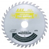 MD210-360 Carbide Tipped Saw Blade for FESTOOL® and Other Track Saw Machines, 210mm Dia x 36T ATB, 15 Deg, 30mm Bore, General Purpose Circular Saw Blade, Fits TS 75 EQ
