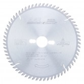 MD220-T641 Carbide Tipped Plywood & Laminate 220mm Dia x 64T TCG, 10 Deg, 30mm Bore Circular Saw Blade