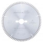 MD250-801-30 Carbide Tipped Plywood & Laminate 250mm Dia x 80T TCG, 10 Deg, 30mm Bore Circular Saw Blade
