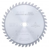 MD7-402 Carbide Tipped Plastic 7-1/4 Inch Dia x 40T M-TCG, -2 Deg, 5/8 Bore Circular Saw Blade