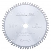 MD7-608 Carbide Tipped Solid Surface 7-1/4 Inch Dia x 60T M-TCG, 0 Deg, 5/8 Bore Circular Saw Blade