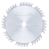 MD8-404TB Carbide Tipped Thin Kerf Combination 8-1/4 Inch Dia x 40T 4+1, 15 Deg, 5/8 Diamond Knockout Bore Circular Saw Blade