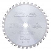 STL180-36 Carbide Tipped Steel Cutting 7-1/4 Inch Dia x 36T FWF, 5/8 with Diamond Knockout Bore Circular Saw Blade
