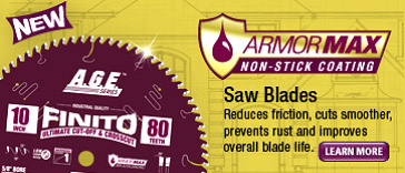 AGE Armor Max Saw Blade Press Release